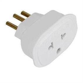 Adaptador Tomada 2p+t 10a Plug Universal Padrão Nbr