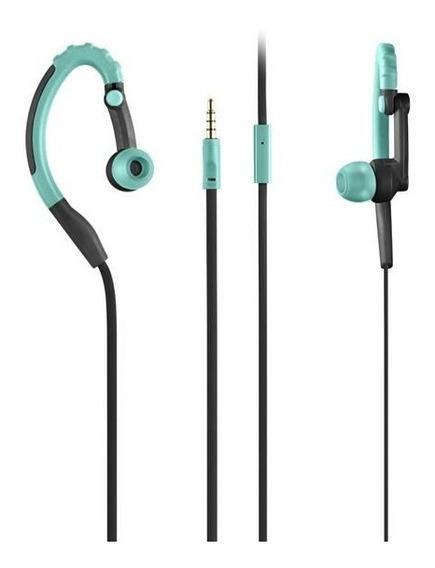 Fone De Ouvido Pulse Earhook Sport Hands-free Várias Cores