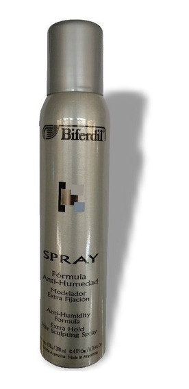 Spray Extra Fijacion Anti Humedad Biferdil Anti Frizz Define