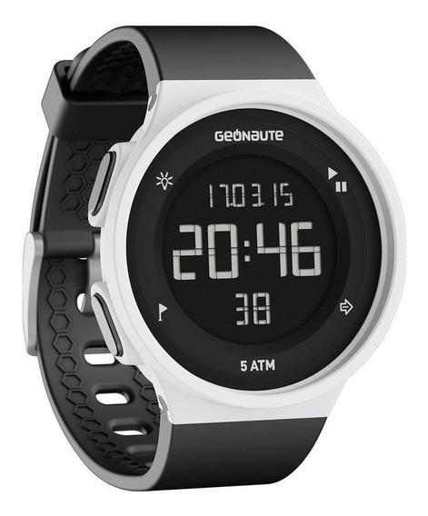 Relógio Digital Esportivo W 500m Swip Geonaute Branco Barato
