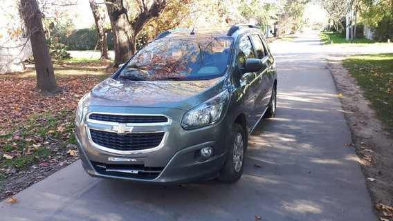 Chevrolet Spin 1.8 N Ltz - Con Gnc + 4 Cubiertas Bridgestone
