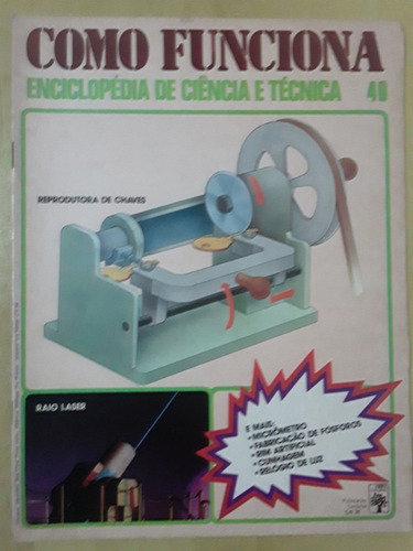 Pl163 Revista Fasc Como Funciona Nº40 Raio Laser Arreio