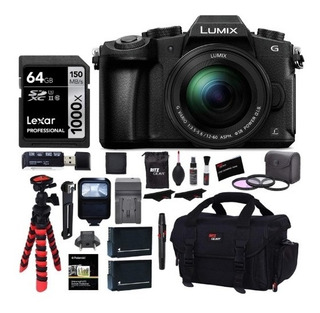 Kit Cámara Panasonic Lumix Dmc-g85mk + Accesorios 16 Mp