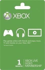 Live Gold 3 Mêses - Xbox One - Código 25 Digitos