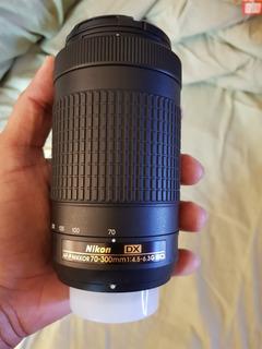 Lente Nikon Nikkor 70-300mm Dx