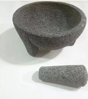 Molcajetes De 32 Cm. 100% Piedra Volcánica.