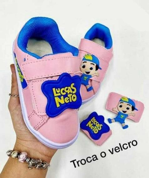 Tenis Infantil Luccas Neto - Foto Real - Mega Promoção