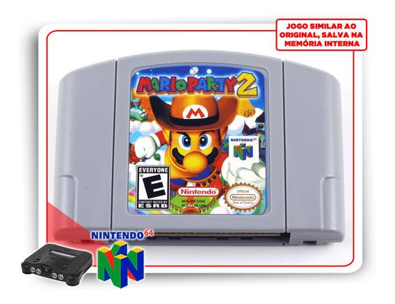 Mario Party 2 Nintendo 64 N64 - Novo - Salva