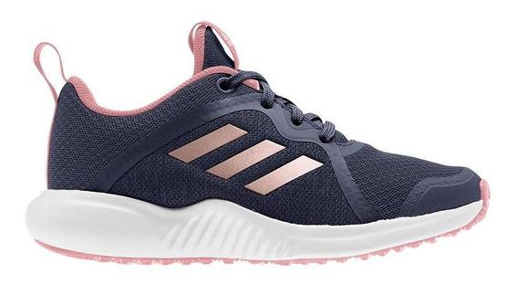 Zapatillas adidas Fortarun X Kids Marino/rosa - Envio Gratis