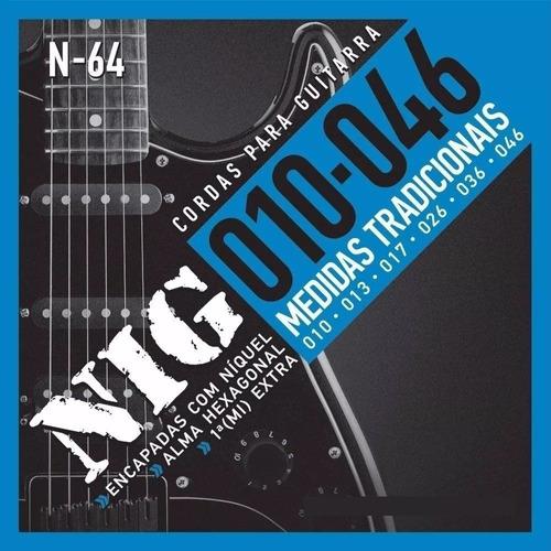 Encordoamento Nig Guitarra 0.010 N-64