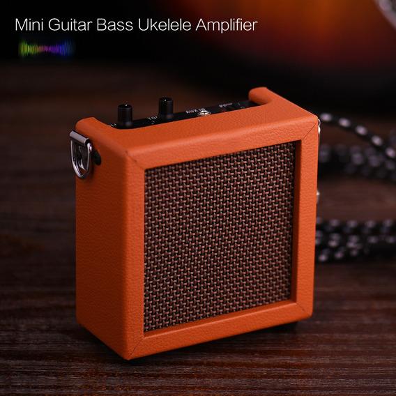 Bateria Mini Guitarra Bass Ukulele Ukelele Amp Amplificador