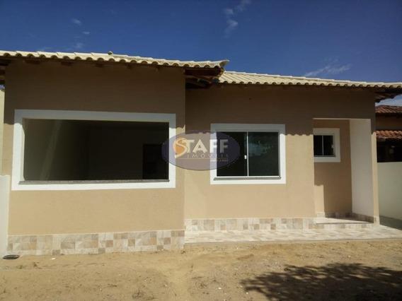 Linda Casa 2 Quartos Sendo 1 Suite Dentro De Condomínio Lado Praia Em Unamar-cabo Frio!! - Ca1157