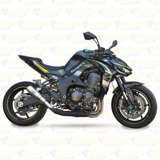 Sistema Completo De Escapamento Hurricane Evolution Gp Project Full Unilateral Kawasaki Ninja 1000 Z1000 Cod.1248
