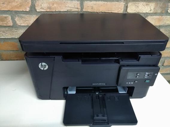 Impressora Laserjet Hp M125a M125 Completa E Revisada