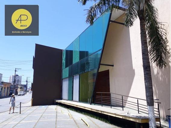 Salão Para Alugar, 750 M² - Jardim Armênia - Mogi Das Cruzes/sp - Sl0012