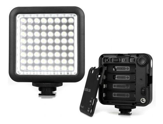 Iluminador Godox 64 Led P/ Canon Nikon Dslr Fotografia Vide