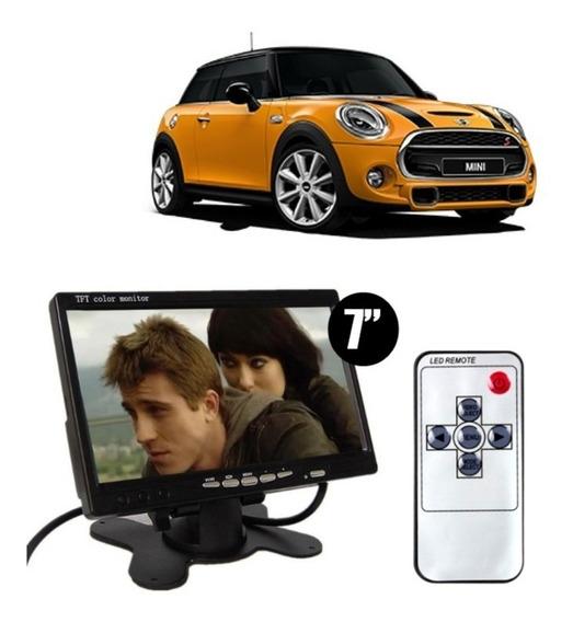 Monitor 7 Lcd Com Base P/ 2 Camera Rca Mini One