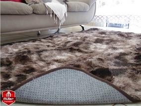Tapete Carpete Elegante Luxo Quarto Sala 2,00x2,40 Peludo