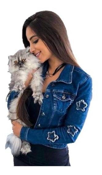 Jaqueta Jeans Star Super Lançamento Exclusivo Das Blogueiras
