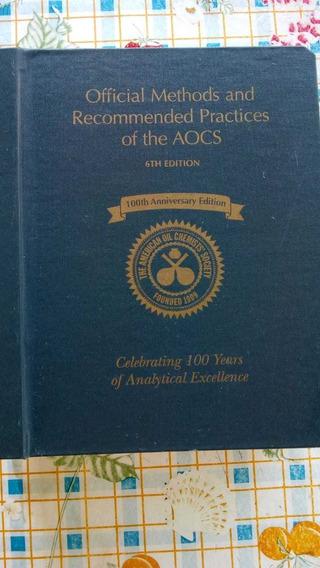 Aocs Livro Official Methods Aocs 6ª Edição