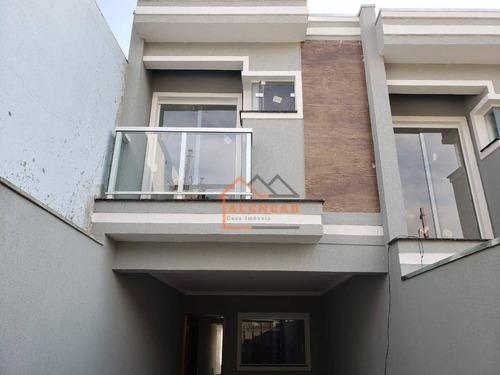Sobrado À Venda, 90 M² Por R$ 475.000,00 - Itaquera - São Paulo/sp - So0242