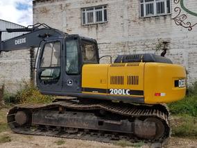 Excavadora Jhon Deere 200lc Impecable