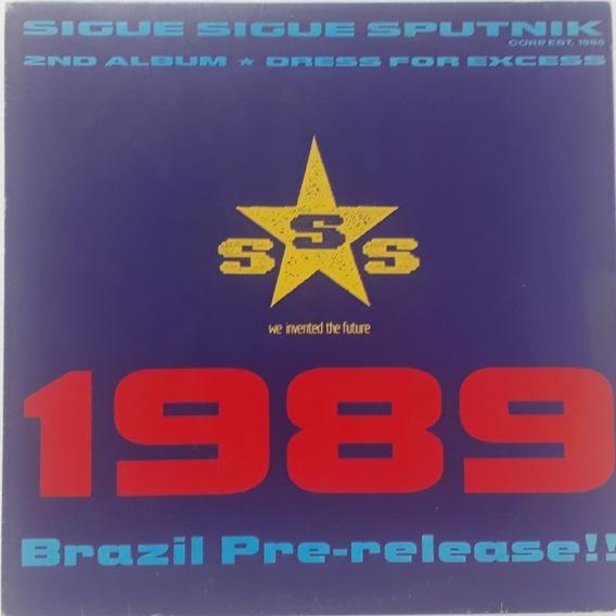 Lp - Sigue Sigue Sputnik - 1989 Brazil Pre-release