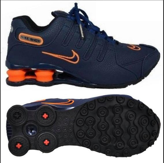 Tenis Nike Shox Nz Masculino Ft Original .