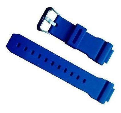 Pulseira Casio Dw 9052 Dw 9000 Dw 9050 G-shock Original Azul