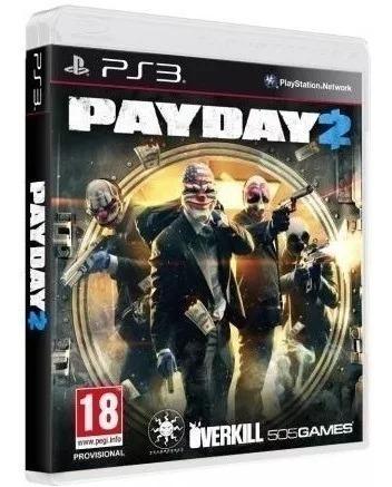 Pay Day 2 - Midia Fisica Original E Lacrado - Ps3
