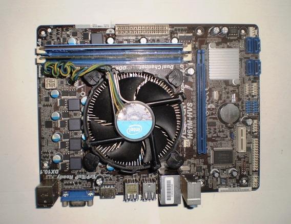 Kit Placa Mãe Asrock H61m-hvs + I3 3240 + Cooler