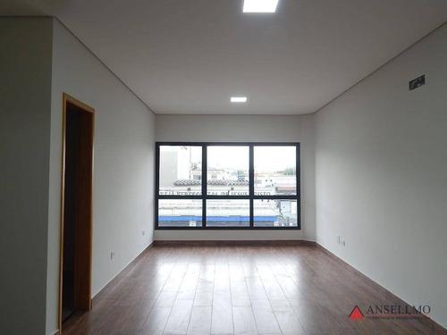 Imagem 1 de 15 de Sala Para Alugar, 40 M² Por R$ 1.800,00/mês - Centro - São Bernardo Do Campo/sp - Sa0567