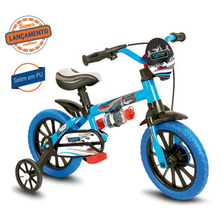 Bicicleta Infantil Nathor Aro 12 Veloz Menino