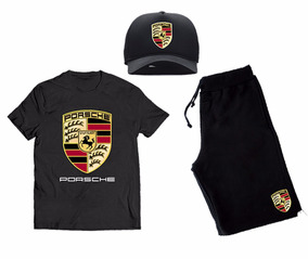 Kit Moletom Boné Trucker Camisa Camiseta Carro Porsche Cav
