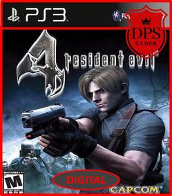 Resident Evil 4 Ps3 Psn Midia Digital Envio Rapido Promoção