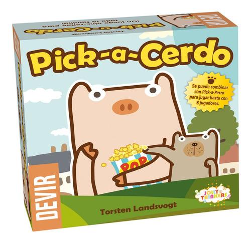 Pick-a-cerdo Juego De Memoria Y Atención Marca Devir