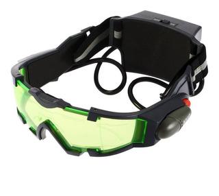 Lente Verde Ajustable Banda Elástica Gafas De Visión Nocturn