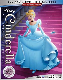 Blu-ray + Dvd Cinderella / La Cenicienta (1950)