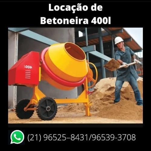 Imagem 1 de 4 de Locação De Betoneira, Máquina De Pintura Airless, Esmerilhad