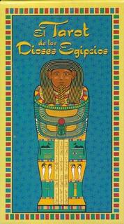 El Tarot De Los Dioses Egipcios Libro + Cartas - S. Vázquez