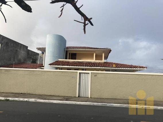 Casa Com 3 Dormitórios À Venda, 246 M² Por R$ - Gruta De Lourdes - Maceió/al - Ca0327