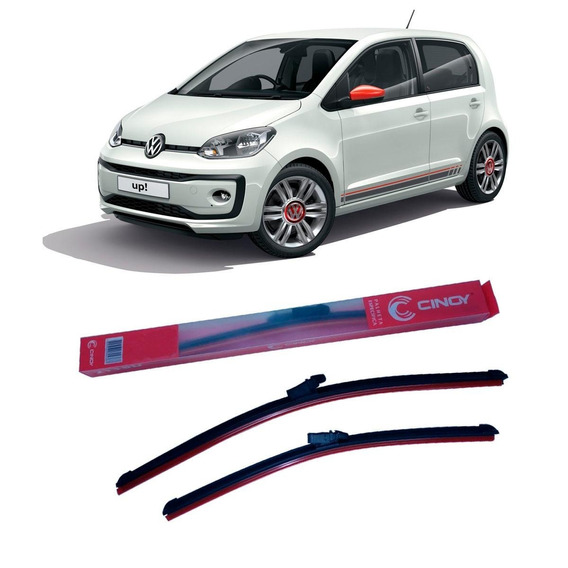 Par Palheta Específica Para-brisa Volkswagen Up 2013 À 2016