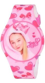 Reloj Casual De Plastico Y Caucho Jojo Siwa Girl Quartz Colo