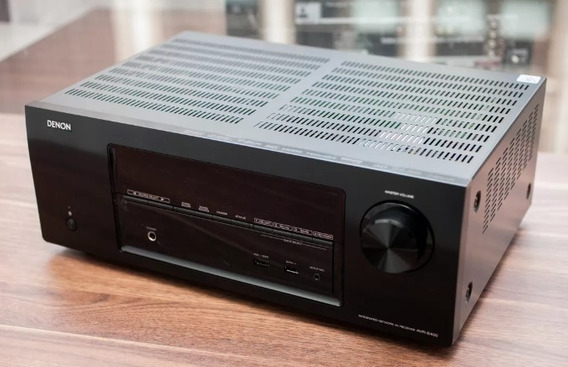 Receiver 7.1 Denon Avr E400 4k & 3d Pass Through Com Airplay