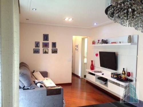 Apartamento Com 3 Dormitórios À Venda, 84 M² Por R$ 550.000,00 - Tatuapé - São Paulo/sp - Ap0189