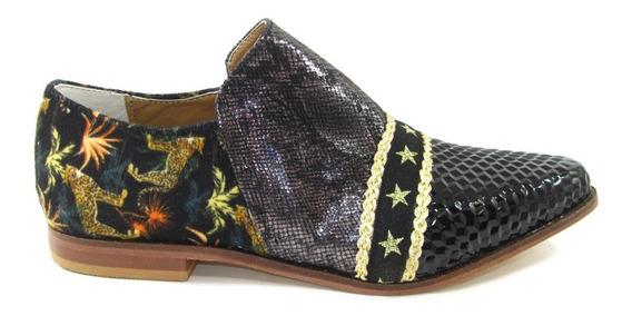 Zapatos Tola Mujer Rocas Combinado Urbano Moda