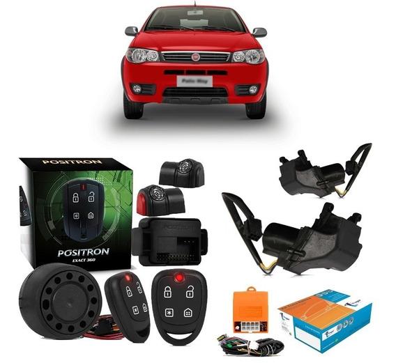 Alarme Positron + Trava Tragial Fiat Palio 2000 A 2011 2p