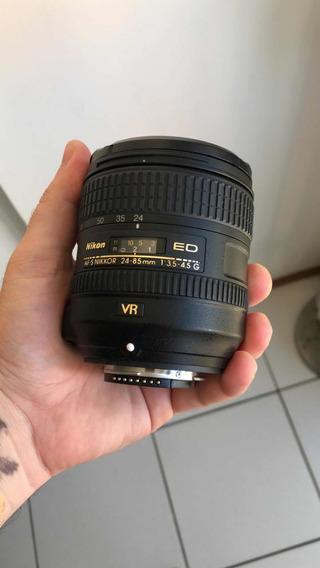 Lente Nikon 24-85mm