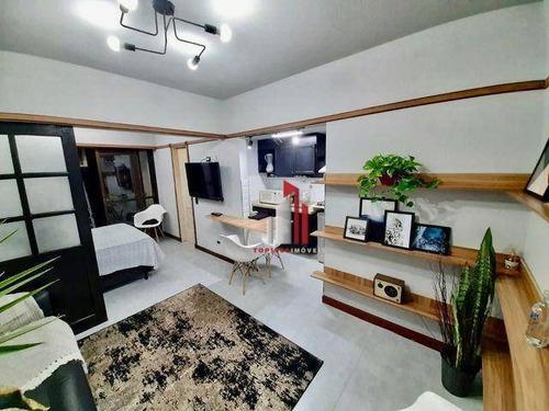 Imagem 1 de 8 de Apartamento Com 1 Dormitório À Venda, 32 M² Por R$ 279.000,00 - Campos Elíseos - São Paulo/sp - Ap0931