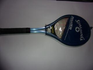 Raqueta Tenis Spalding Invader Metal Antigua De Coleccion
